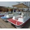 玻璃钢电动船定制_玻璃钢脚踏船厂家供应_雄县永固造船厂