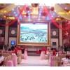 高清P4户外全彩LED屏_3D牛角尖LED显示屏-酒吧DJ台