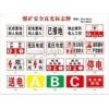 标牌厂家/煤矿安全警示标牌价格/长垣县瑞丰铝塑牌板厂