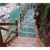 武汉玻璃吊桥施工/旅游区假山施工公司/洛阳锐通园林栈道工程有